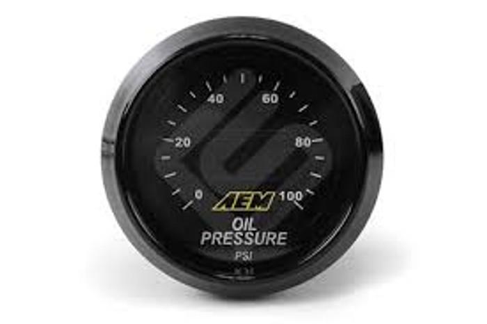 AEM 52mm Pressure (Oil or Fuel) Digital Gauge