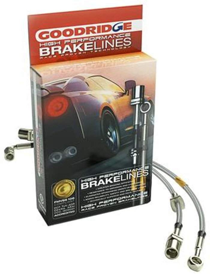 Goodridge 2.4L Lrg Disc SS Brake Lines