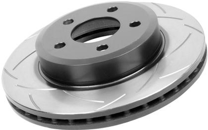 DBA 01-03 Acura CL / 95-05 TL / 04-05 TSX / 03-06 Accord V6 EX MT Front Slotted Street Series Rotor