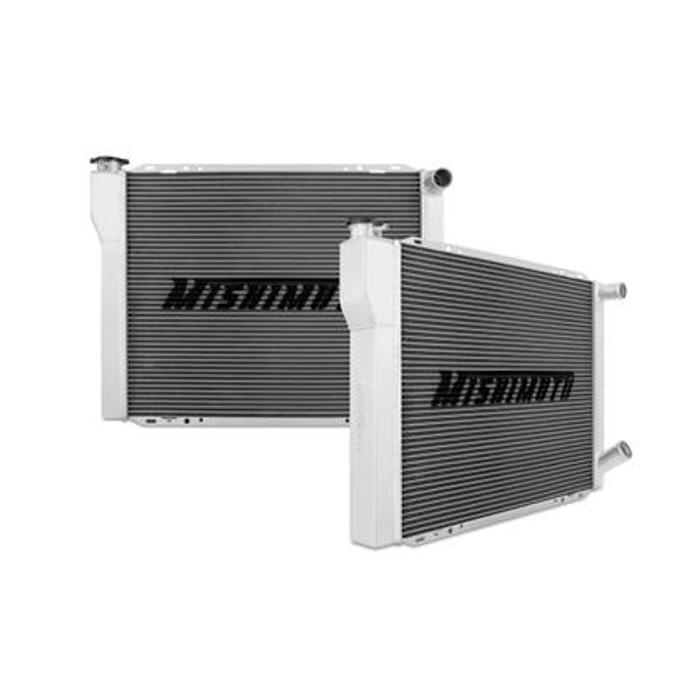 Mishimoto Universal Dual Pass Race Radiator 27x19x3 Inches Aluminum Radiator