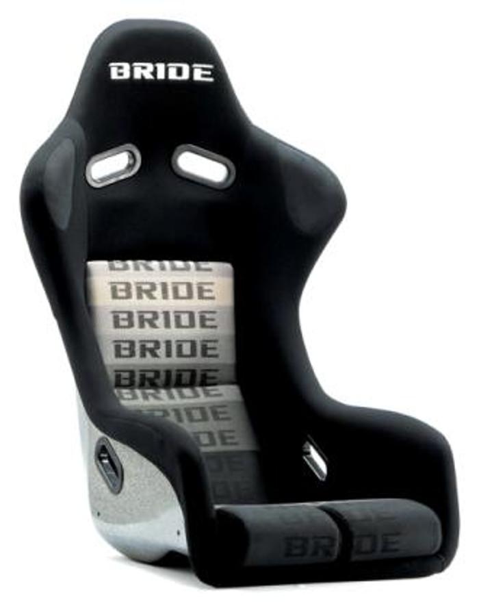 Bride Cusco Zeta III+C Type-L Super Aramid - Black / Black Suede Seat