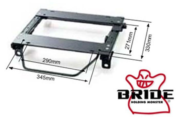Bride Acura Integra 1990-1993 MO-Type Right Seat Rail
