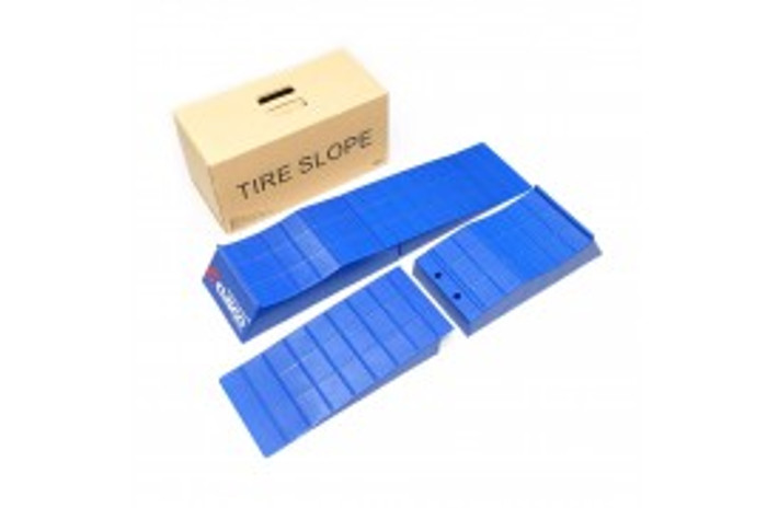 Cusco Low Down Slope 2pcs Seperate Type Blue (L&R Set)