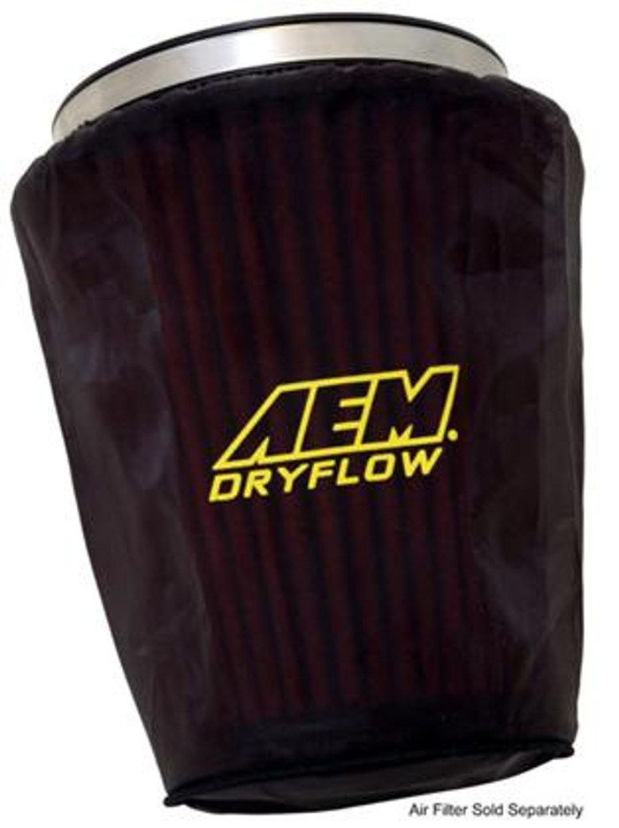 AEM Air Filter Wrap 7 1/2 inch Base 5 inch Top 9 inch Tall