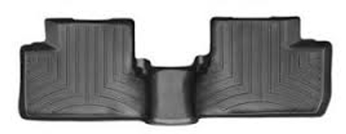 WeatherTech 04-08 Acura TL Rear FloorLiner - Black