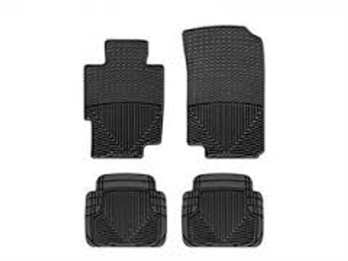 WeatherTech Acura TSX/TL Front and Rear Rubber Mats - Black