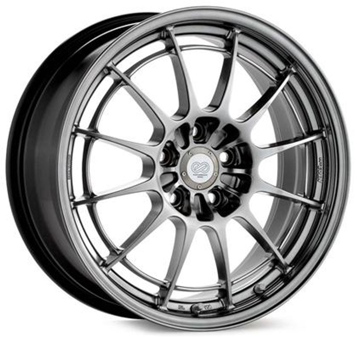 Enkei NT03 17x7.5 4x100 45mm Offset 72.6mm Bore Hyper Silver Wheel
