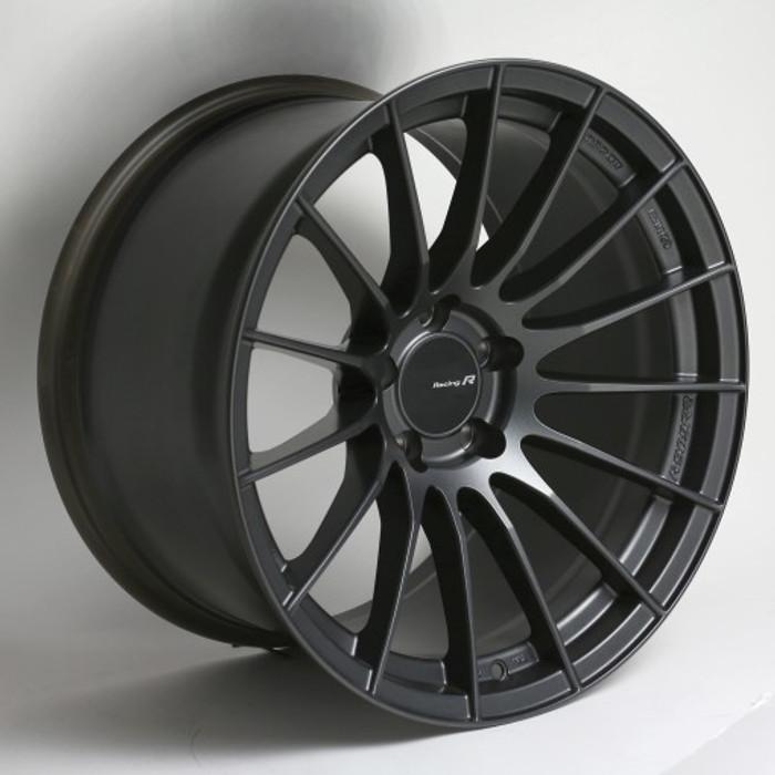 Enkei RS05-RR 18x8.5 42mm Offset 5x100 Bolt Pattern 75.0 Bore Matte Gunmetal Wheel