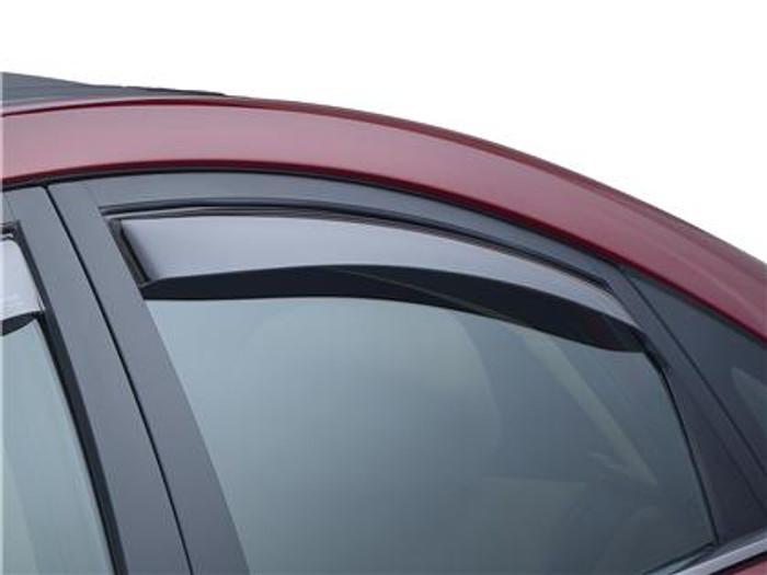 WeatherTech 09+ Acura TL Front and Rear Side Window Deflectors - Light Smoke