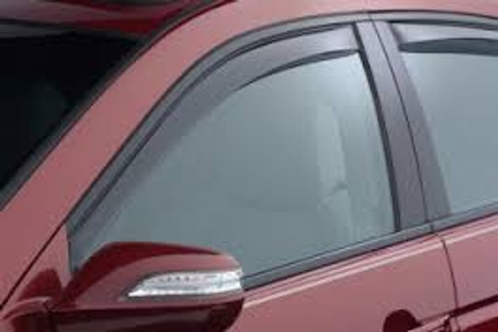 WeatherTech 04-08 Acura TL Front and Rear Side Window Deflectors - Dark Smoke