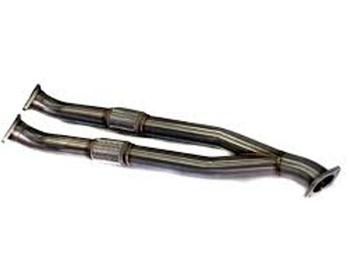 AP 09+ Nissan GTR Titanium Y-Pipe Exhaust
