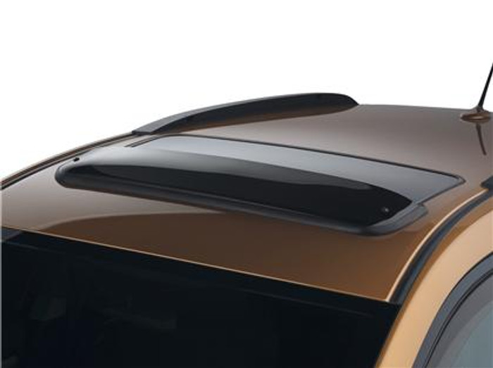 WeatherTech 04-08 Acura TL / RL Sunroof Wind Deflectors - Dark Smoke