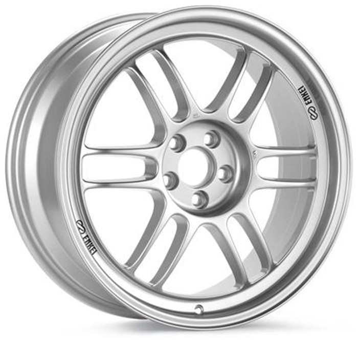 Enkei RPF1 16x7 5x114.3 25mm Offset 73mm Bore Silver Wheel