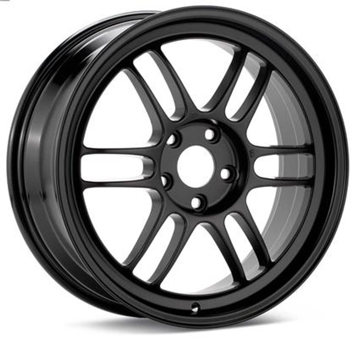 Enkei RPF1 18x9.5 5x114.3 45mm Offset 73mm Bore Black Wheel