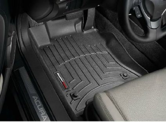 WeatherTech 09-14 Acura TL Front and Rear Floorliners