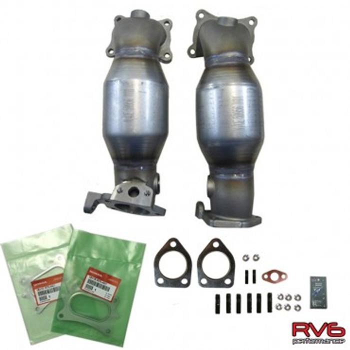 RV6™ HFPCs™ (High Flow Precats)/Downpipe Kit for 15+ TLX (3.5L)