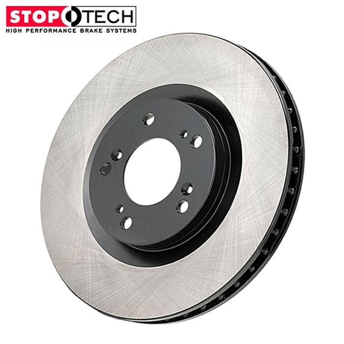 blank stoptech acura tl brake rotors