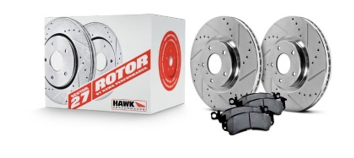 Hawk sector 27 rotors and Z code pads