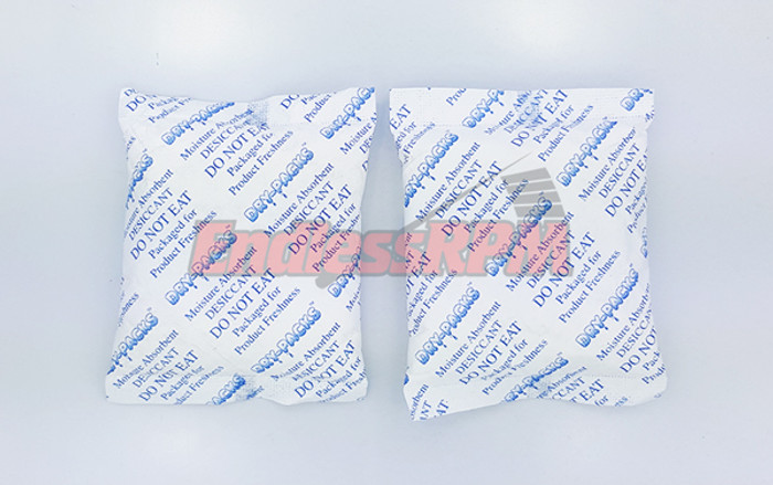 Silica packet