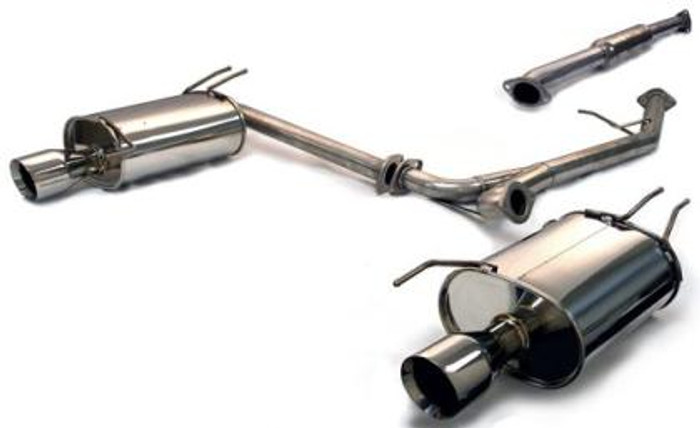 Tanabe Medallion Touring Dual Muffler Catback Exhaust 04-06 TSX