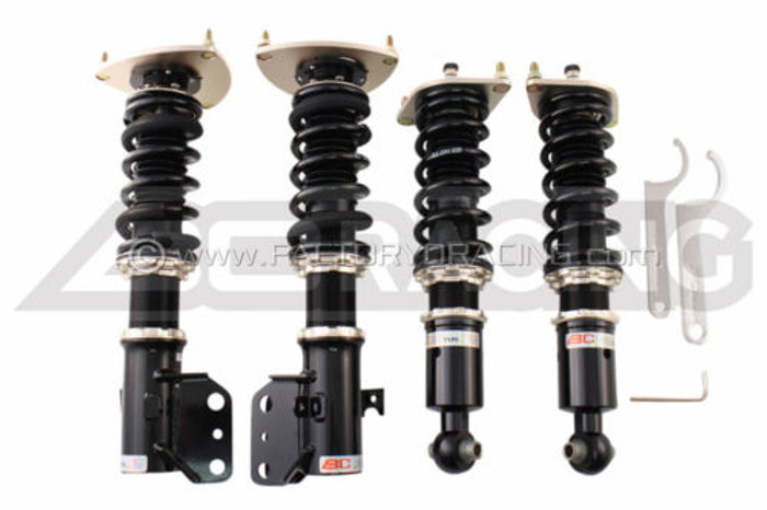 BC Racing BR Series Coilovers for 12-14 Subaru WRX F-21-BR