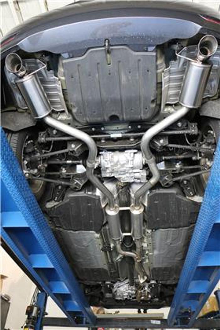 Acura TLX XLR8 Catback Exhaust System - SH-AWD