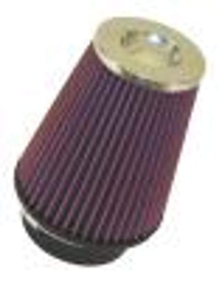 "K&N Filter Universal Rubber Filter 5"" Flange 6.5"" Base 4.5"" Top 5.5"" Height"