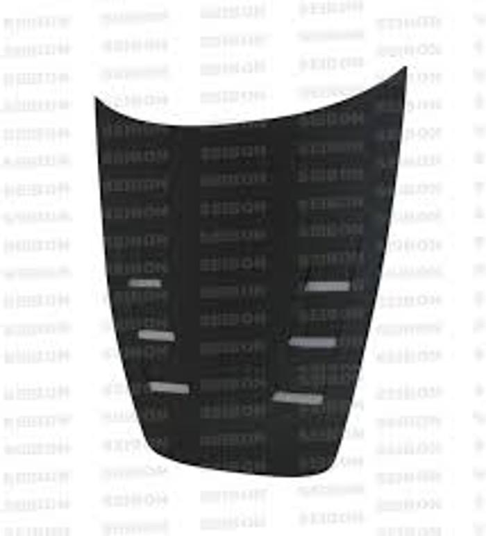 Seibon 00-09 Honda S2000 TS Carbon Fiber Hood