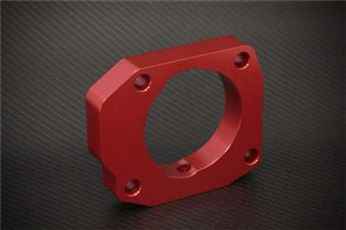 Torque Solution Throttle Body Spacer (Red): Acura CL & TL-P 2001-2003