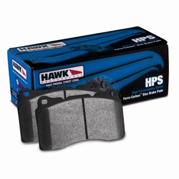 Hawk 04+ Accord TSX / 99-08 TL / 01-03 CL / 08+ Honda Accord EX HP+ Street Front Brake Pads  - (N code, see description)