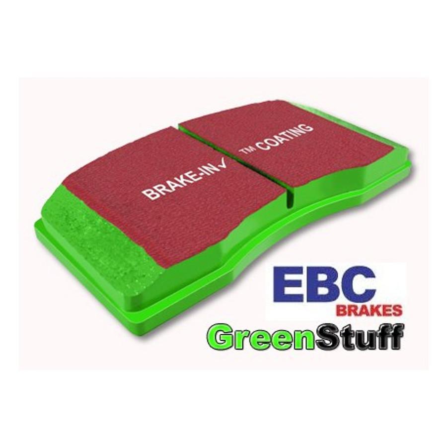 EBC Green Stuff Brake Pads And Blank Rotors - Acura tl brake pads