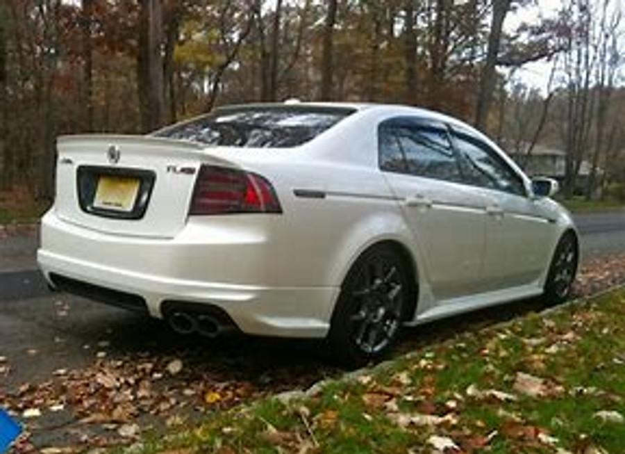 Aspec Front And Rear Acura TL TypeS - Acura tl lip kit
