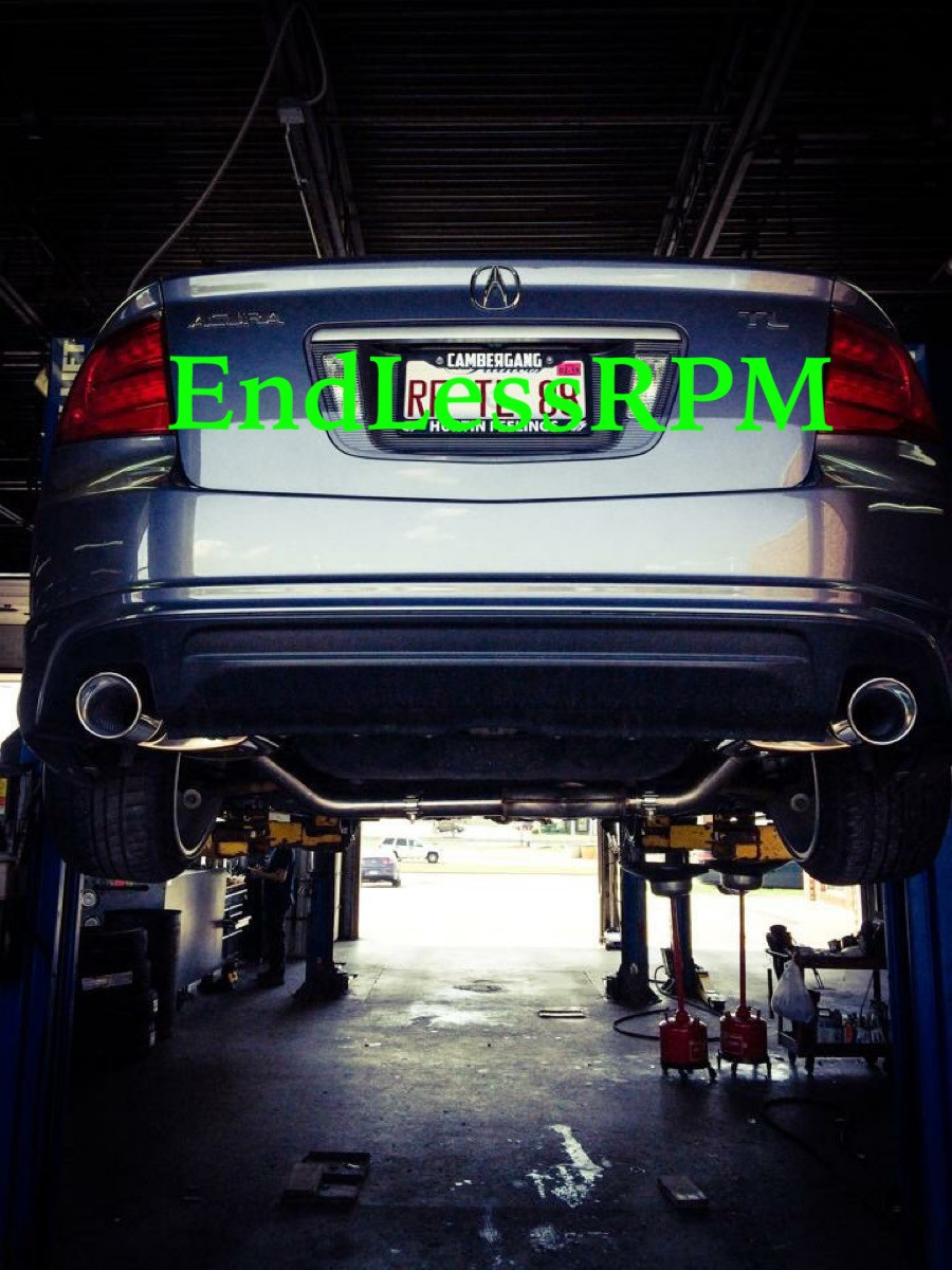 EndLessRPM ACURA TL Performance Catback Exhaust System Single - 2004 acura tl performance