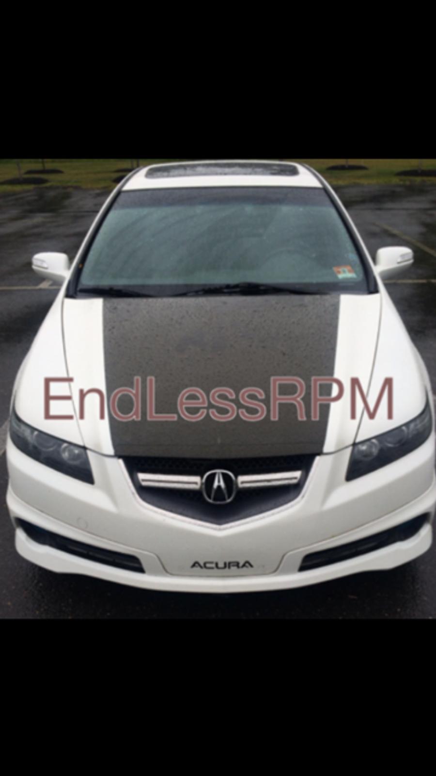 Acura TL Front Bumper Decal - 2005 acura tl front bumper