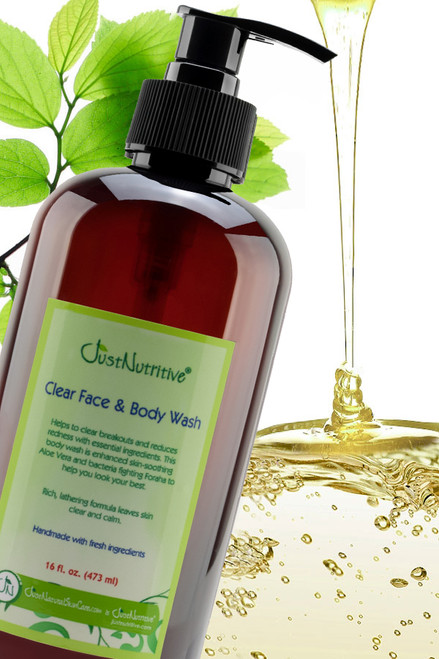 Just Natural Skin Care Acne Face And Body Wash Review