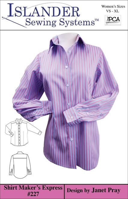 Women's Shirt Maker's Express VS-XL