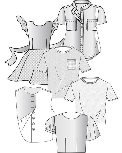 Children's Shirt and Blouse Blocks (3-6x)