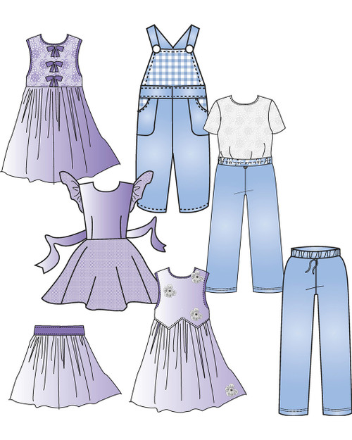 Children's Pants & Skirt Block (3-6x)