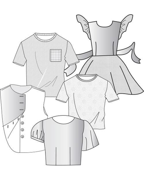 Children's Shirt and Blouse Blocks (7-12)
