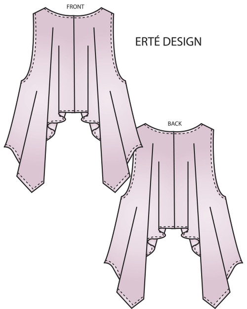 Erte Wrap, Circular Wrap, and Cocoon Wrap