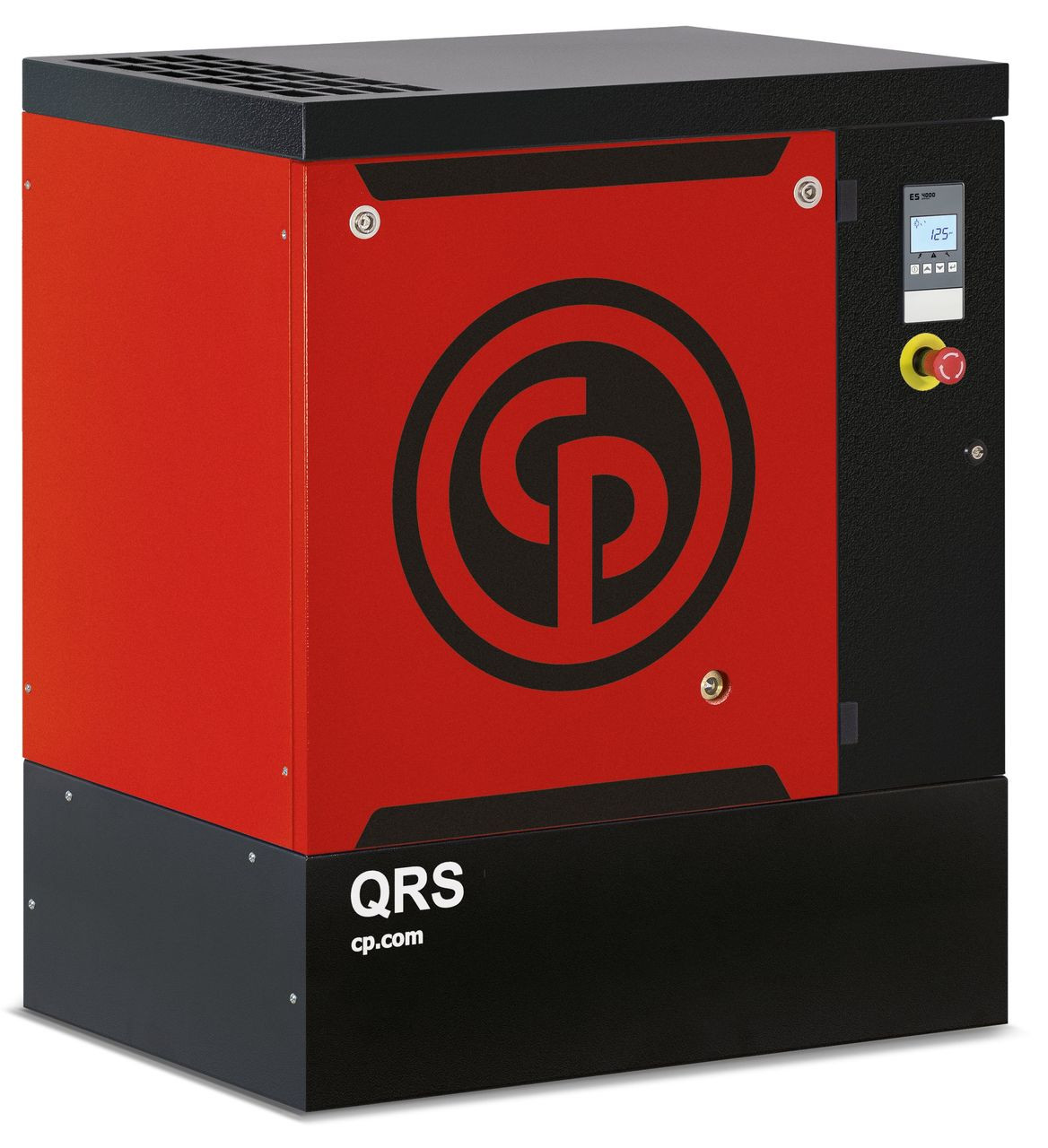 Chicago Pneumatic QRS15HP-125 BM 15 HP 125 psi Base Mount Rotary Screw Air Compressor
