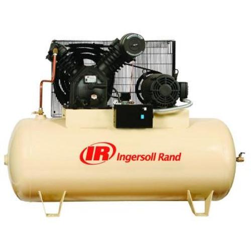 Ingersoll Rand 2545E10-P 10 HP 120 Gallon Horizontal Premium Air Compressor (200 Volt)