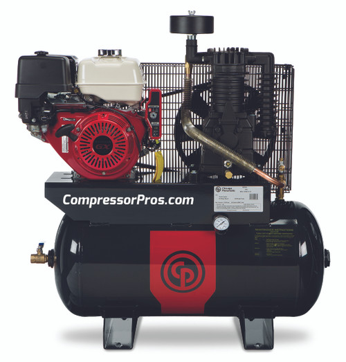 Chicago Pneumatic RCP-1330G 13 HP Honda Gasoline Driven Two Stage 30 Gallon Air Compressor