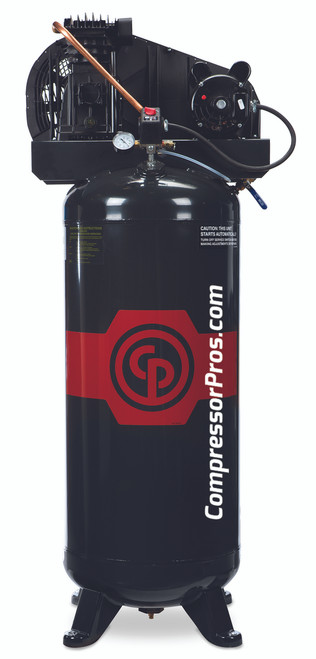 Chicago Pneumatic RCP-3561V 3.5 HP Single Phase Single Stage 60 Gallon Air Compressor