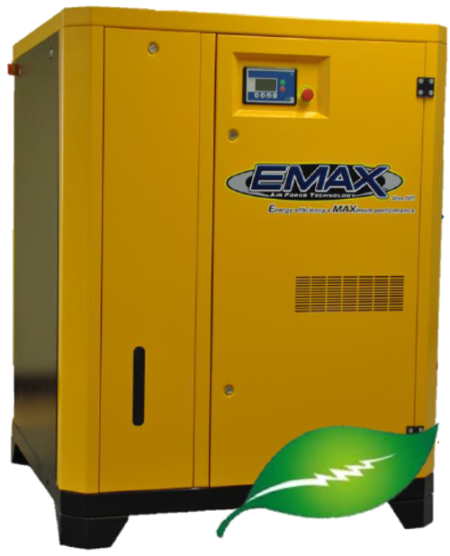 EMAX ERV0400003D 40 HP Variable Speed Rotary Screw Air Compressor