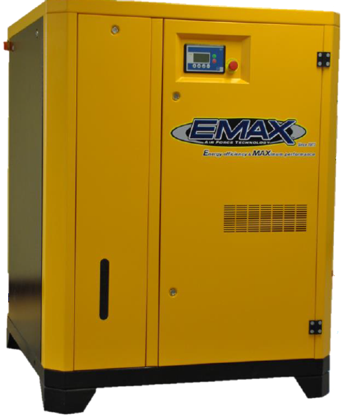 EMAX ERS0600003D 60 HP Direct Drive Rotary Screw Air Compressor