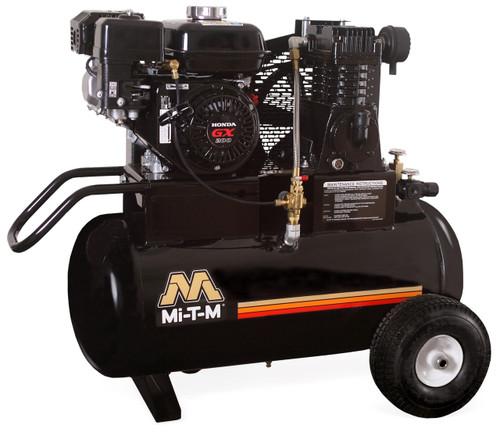 Mi-T-M AM1-PH65-20M 6.5 HP Honda Gasoline Driven Single Stage 20 Gallon Portable Air Compressor
