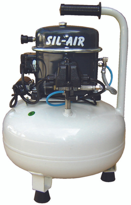 Sil-Air 50-15 1/2 HP 110 Volt 4 Gallon Silent Air Compressor by Silentaire Technologies