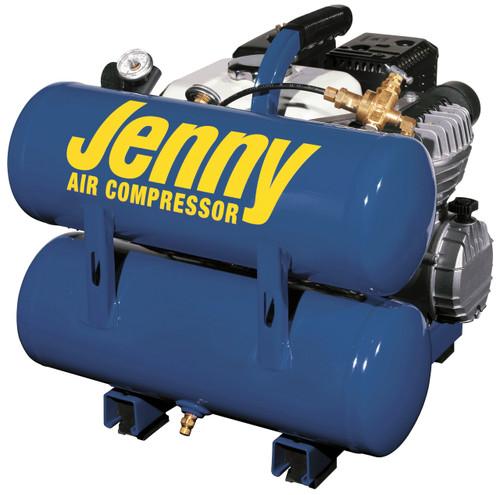 Jenny AM840-4HG-HC4V 4 HP Honda Gasoline Driven Portable Air Compressor