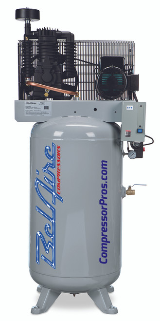 BelAire 318V 5 HP 208-230-Volt Single Phase Two Stage 80 Gallon Air Compressor